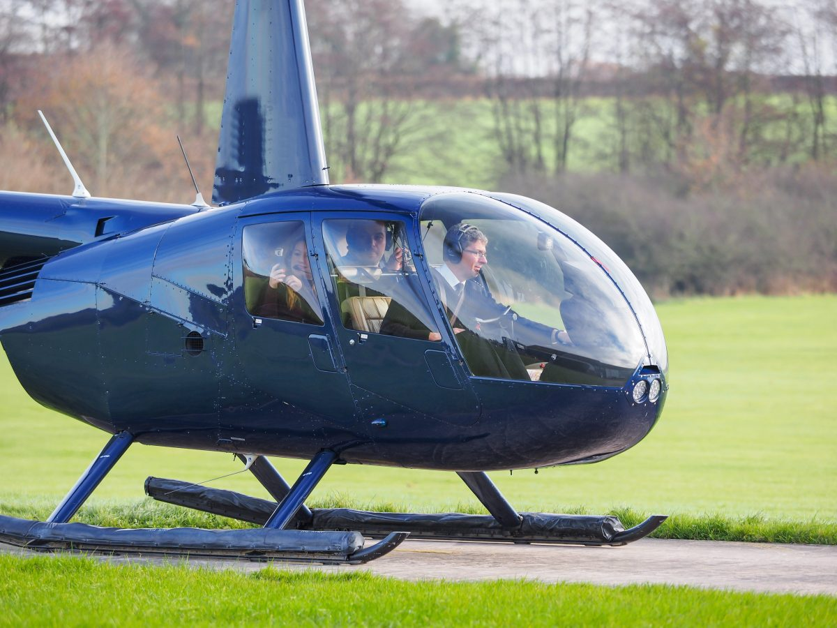 Propose In Style - Helicopter Hire